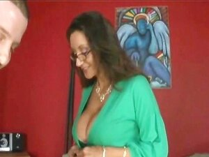 Mamãe Quente Entrar Mouthfucked POV Porn