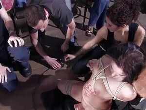 Punição De Gangbang Atrevido Porn