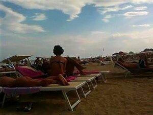 Cu Bronzeado Perfeito Na Praia, Porn