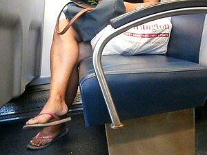 Cândido árabe Flip Flop Dangle Porn