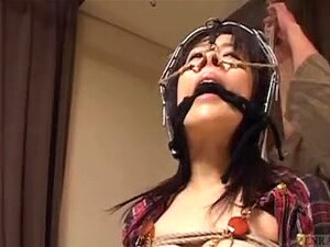 Legendada Nariz Bizarro De Japonês CMNF Gancho Palmada BDSM Porn