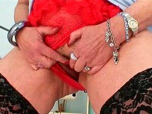 Grandes Mamas Ruiva Senhora Dildoying Cabeluda Porn