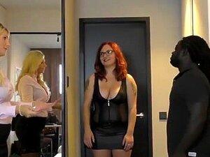 Meu Hobby Sujo - Um Encontro De Final Feliz. 2 Busty Babes Levar Um Galo Preto Grosso Para Um Passeio Trio Em Um Quarto De Hotel. Porn