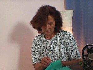 60 Anos Velha Vovó Monta Sua Carne Porn
