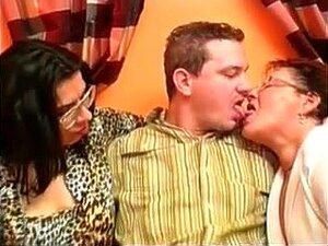 Delicioso Trio Vovó Gorda, Porn