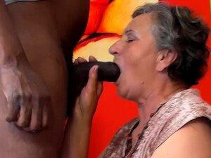 Vovó 80 Anos Primeiro Interracial Porn