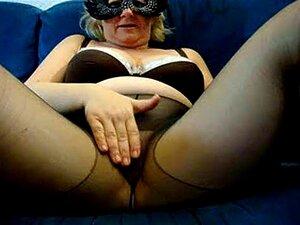 Masturb Pt Collant Noir Porn