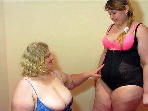 BBW Lésbicas Porn